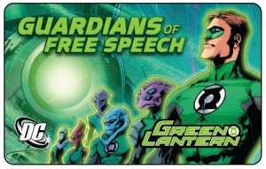 Green Lantern Member Card Leads 2011 CBLDF Member Incentives!