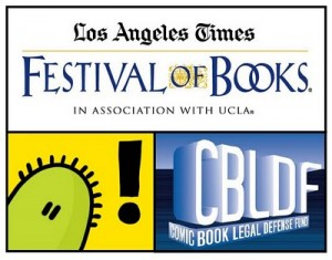 CBLDF Attends LA Times Festival of Books & Stumptown Comics Fest!