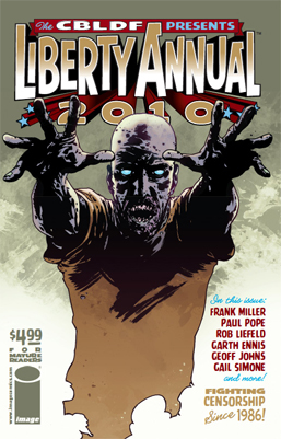 CBLDF's Liberty Annual NYCC Variant Hits!