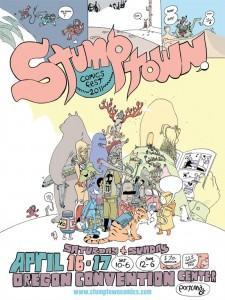 CBLDF Stumps for Free Speech at Stumptown Comics Fest