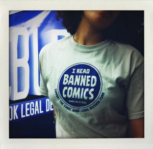 Proclaim Your Love for Banned Comics With This All-New T-shirt!