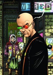 Wired Talks Transmetropolitan Art Book