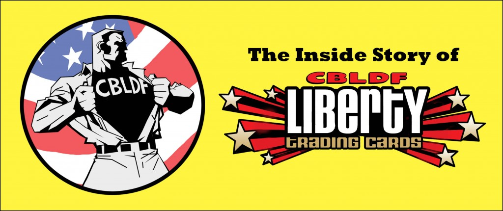 Larry Marder's CBLDF Liberty Cards Diary #1