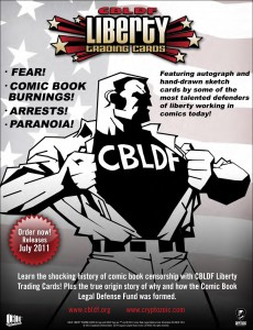 CBLDF President Larry Marder on CBLDF Liberty Trading Cards