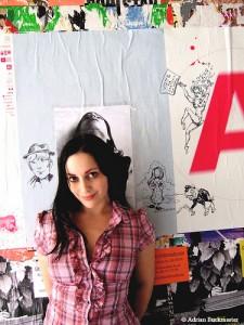 CBLDF Auctions Massive Molly Crabapple Original
