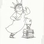 Lady Liberty by Maris Wicks