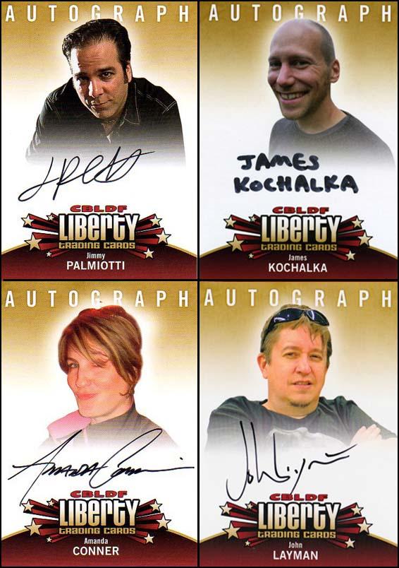 CBLDF Autograph Cards