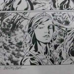 Fables #96, p. 21, featuring Rose Red (signed by Marc Buckingham and Steve Leialoha)