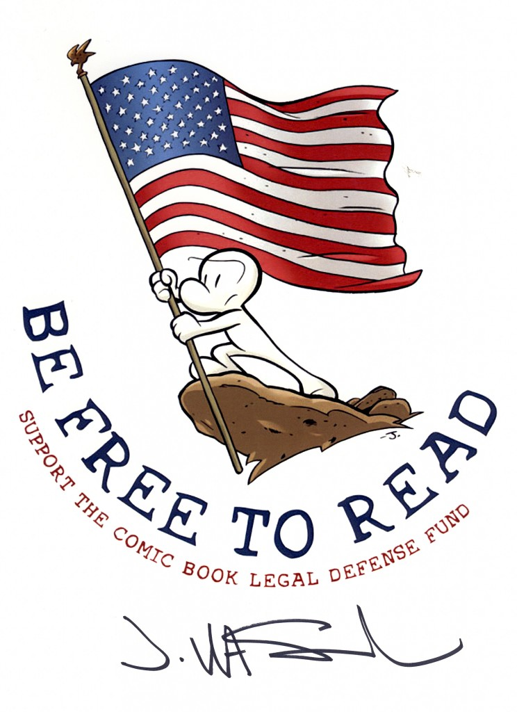 CBLDF Wishes You a Happy Fourth of July