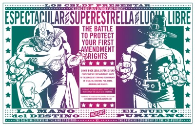 SDCC Premiere: BPAL & J. Gonzo K.O. Censorship With New Luchadore Inspired Print & Fragrance Set!