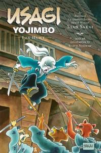 Usagi Yojimbo: FOX HUNT, SIGNED, SKETCHED limited PC HC