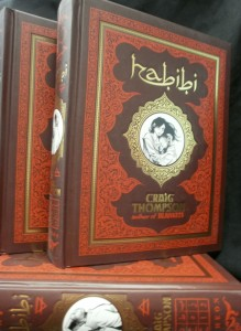 Craig Thompson's HABIBI Debuts at SPX 2011 to Benefit CBLDF!
