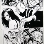 ULTIMATE X-MEN, Original Art by Paquette and Story