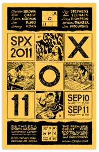 Events at SPX to benefit Comic Book Legal Defense Fund and the SPX Graphic Novel Gift Program