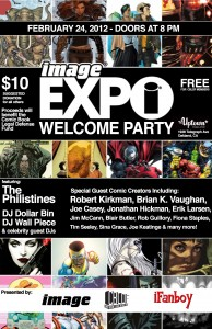 Image Comics, the Comic Book Legal Defense Fund and iFanboy present the Image Expo Welcome Party