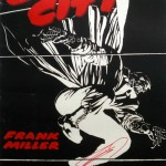 French SIN CITY Poster, signed by Frank Miller