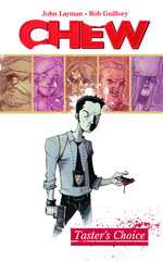 CHEW Volume 1, signed by John Layman
