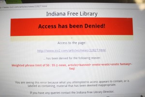 Access Denied: Library Filter Fail