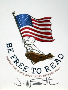 Jeff Smith Joins CBLDF Be Counted Drive To Protect The Freedom to Read!