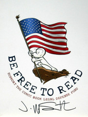 Shop the CBLDF Donation Center During Banned Books Week!