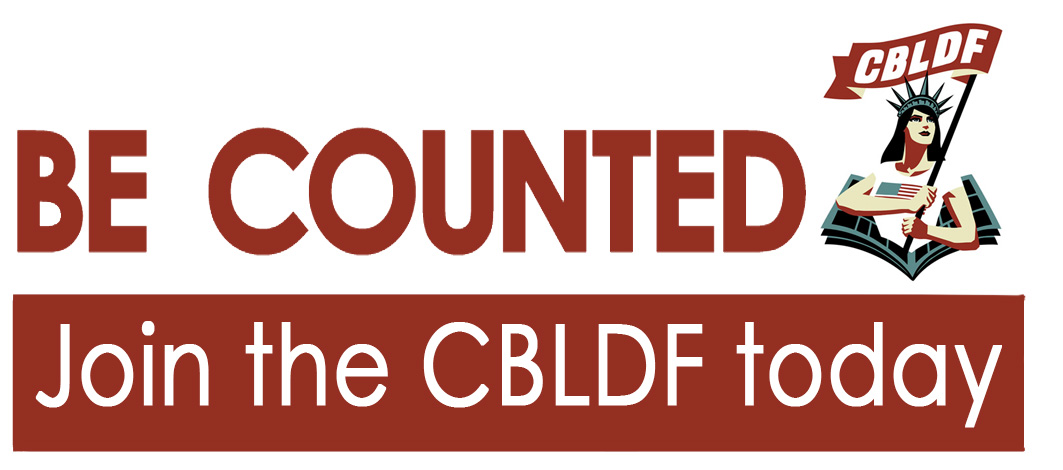 Be Counted: Help CBLDF Stand Up For The Freedom to Read!