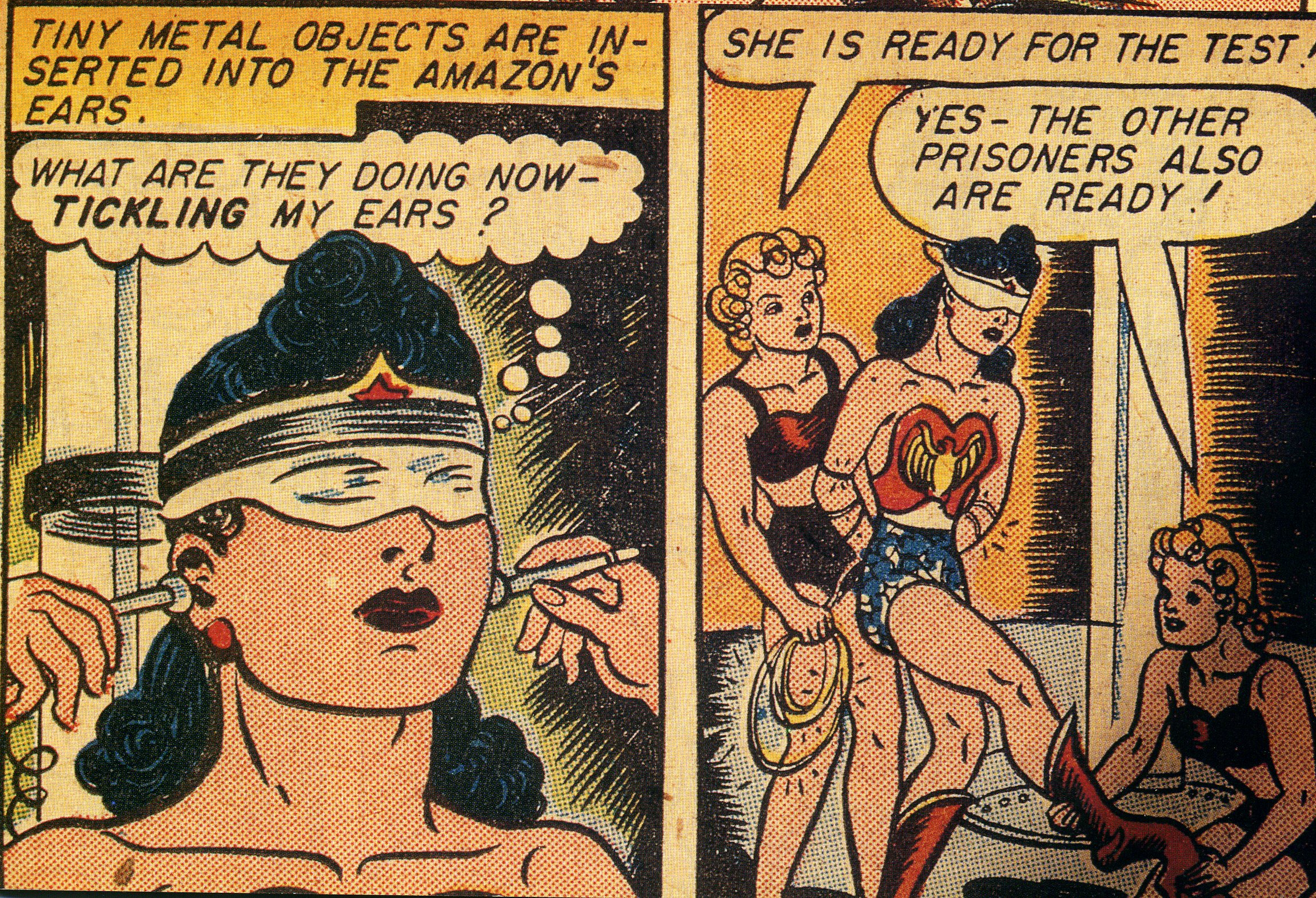 wonder woman erotic story