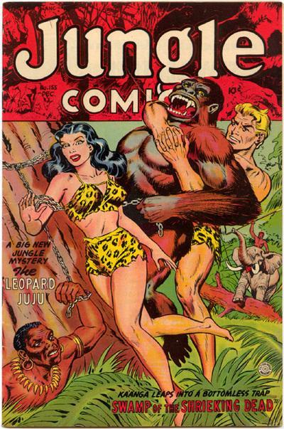 Girl comics Jungle adult