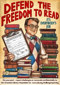 Defending the Freedom to Read by Reporting Challenges