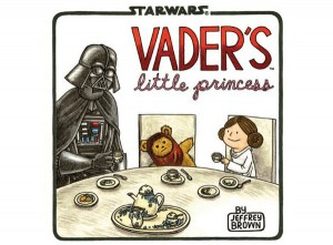 Vader's Lil Princess Signed by Jeffrey Brown — Now With Sketches!