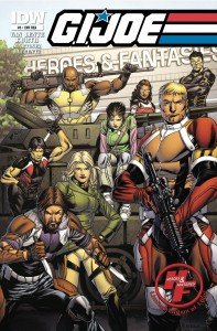Retailer Supporter Heroes & Fantasies Honored on Cover of GI Joe