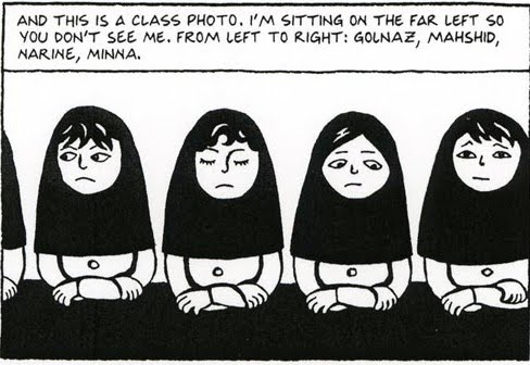 Literary essays outline on women's role in persepolis