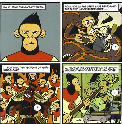 Using Graphic Novels In Education American Born Chinese Comic