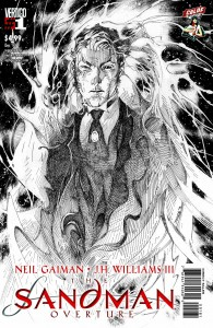 DC Entertainment Co-Publisher JIM LEE Illustrates THE SANDMAN: OVERTURE #1 Cover Available Exclusively to CBLDF Retailer Members!