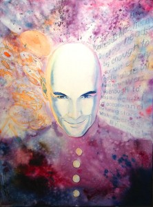 Signed Grant Morrison Portrait Available on eBay!