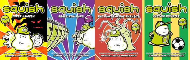 Using Graphic Novels in Education: Squish