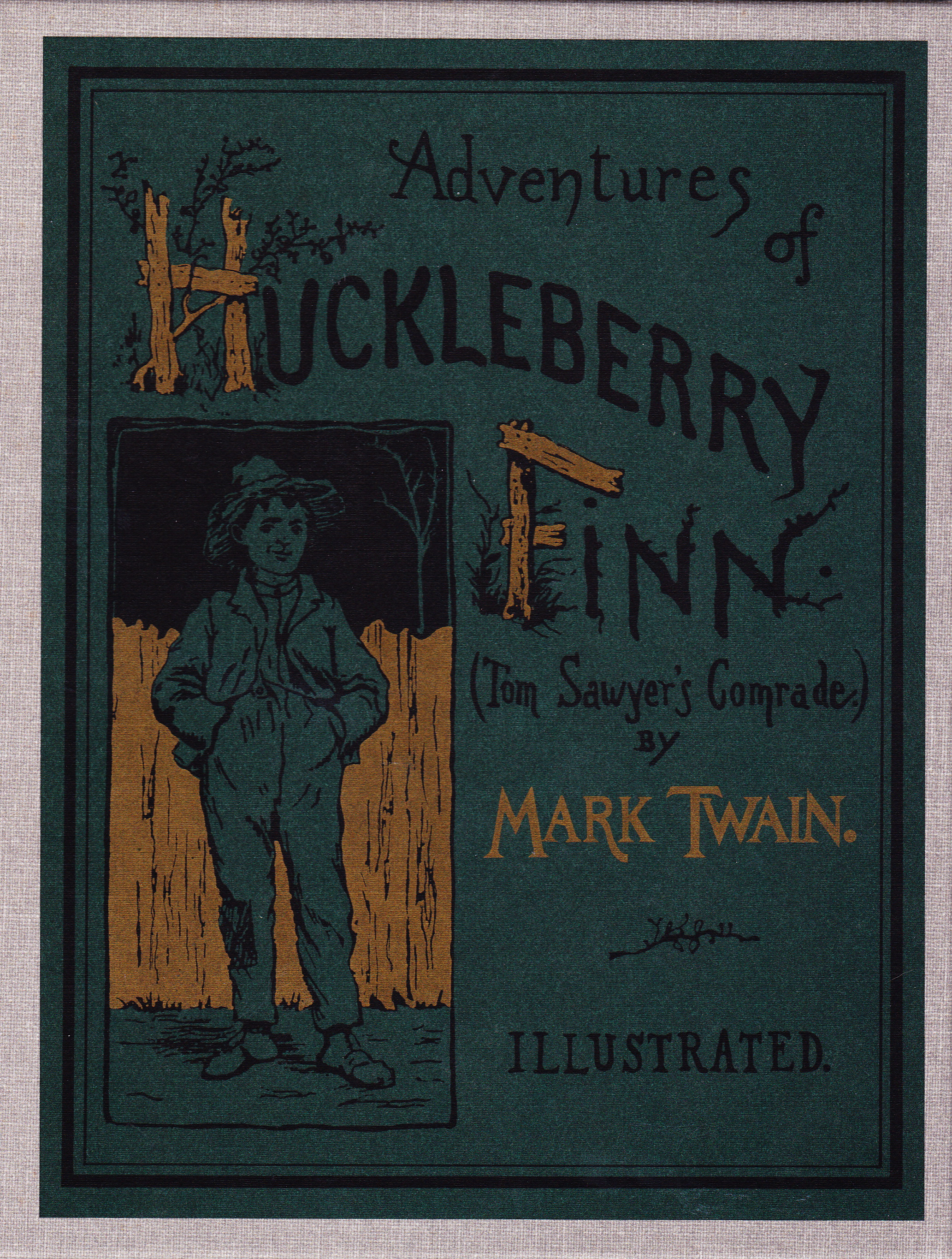a brief review of mark twains book adventures of huckleberry finn Mark twain regarded as the pride and joy of american literature, the adventures of huckleberry finn is a picturesque novel depicting huck's epic journey from boyhood to manhood and the struggles he must face living in a corrupt society.