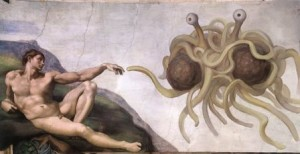 Flying Spaghetti Monster Banned From UK University Event
