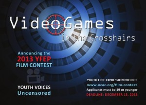 Youth Fight Video Game Censorship in NCAC Film Contest