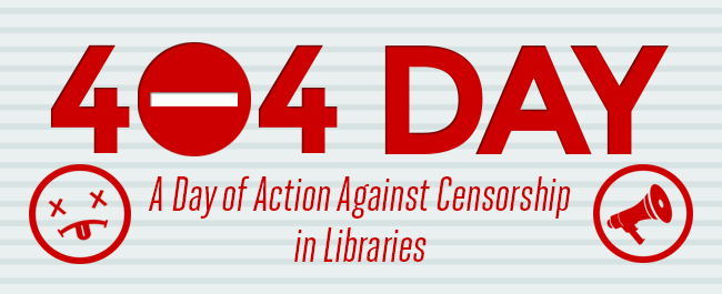 TODAY: Join the Day of Action Against Censorship in Libraries!