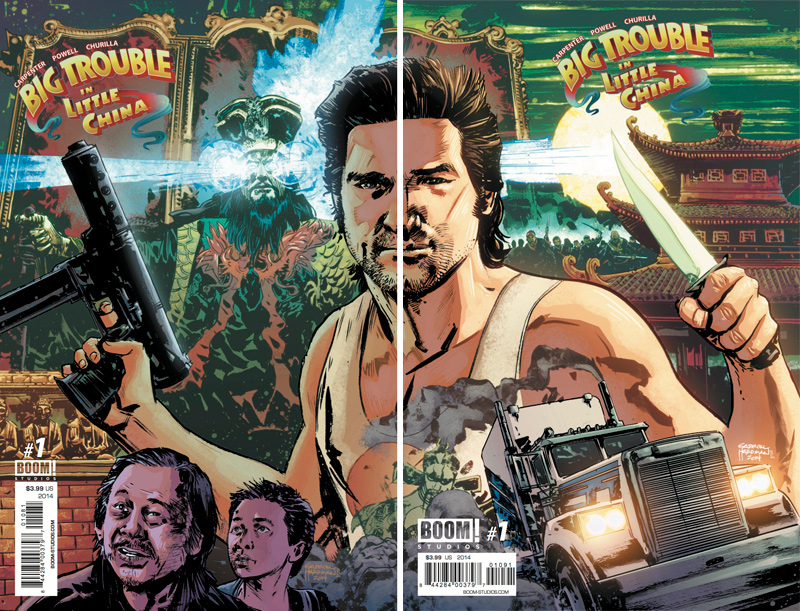 DCBS and TFAW Debut Exclusive Big Trouble in Little China Variants to Benefit CBLDF