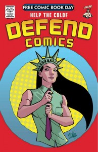 CBLDF Celebrates Free Comic Book Day Acclaim with Fresh New Premiums