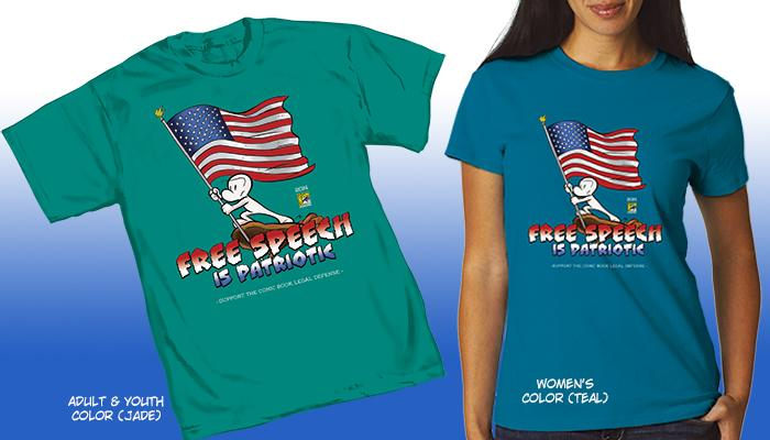 Free Speech is Patriotic with This BONE Tee!
