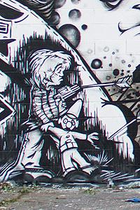 Chicago mural detail