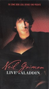 "Neil Gaiman Celebrates Banned Books Week With ""Live at the Aladdin"" Reissue!"
