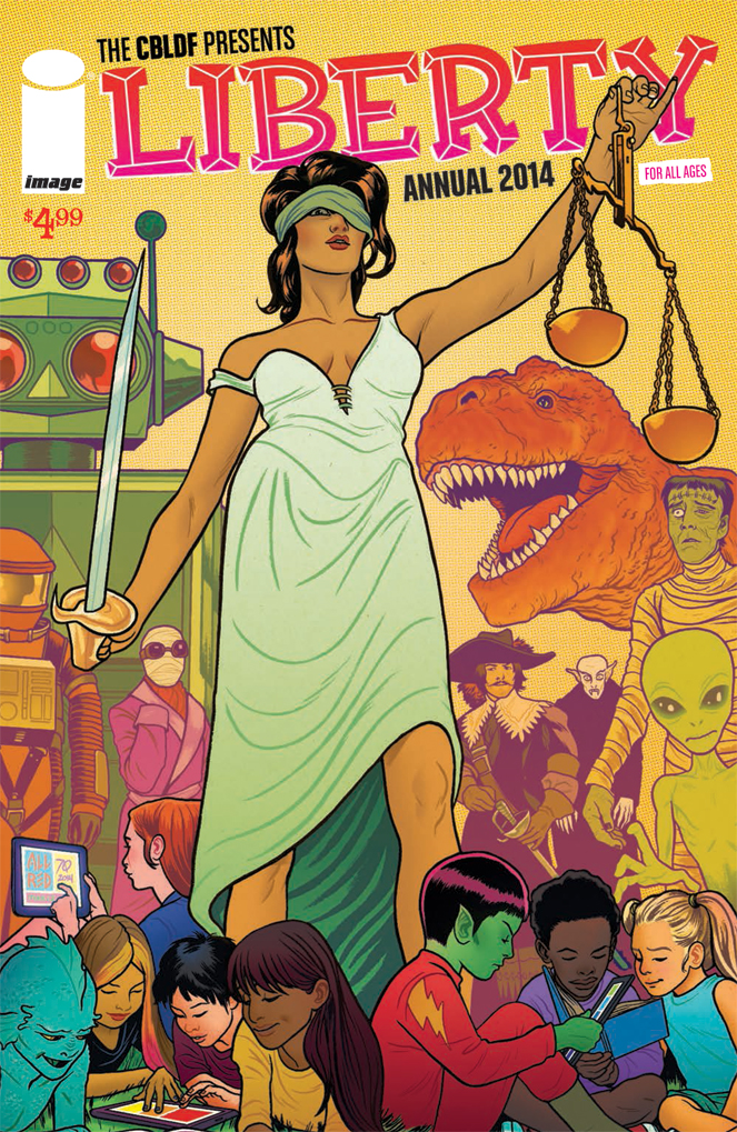 Retail Orders for CBLDF Liberty Annual 2014 Due Next Week!