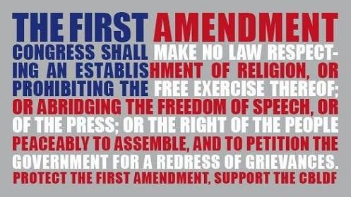 first amendment rights and students The court said the first amendment protects students' rights to receive information and ideas and that the principal place for such information is the library finally, defendant's use is commercial because of its effect on plaintiff's activities first.