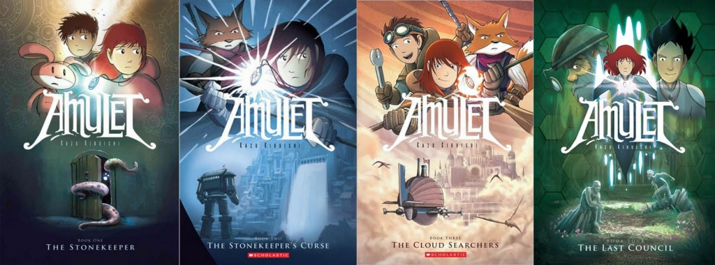 Using Graphic Novels in Education: Amulet