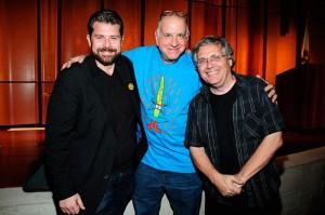 Charles Brownstein, Larry Marder, and Scott McCloudPhoto by Kevin Green © 2014 SDCC