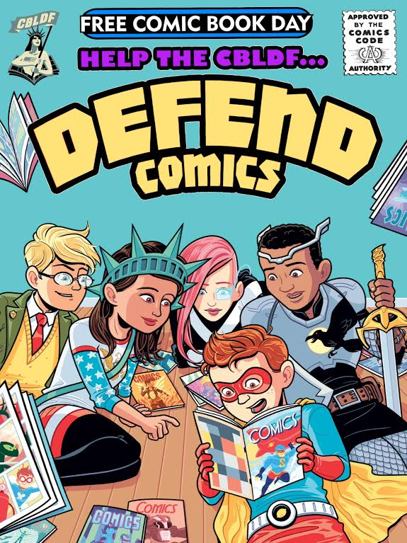 DEFEND COMICS: Free Comic Book Day 2015 Edition!
