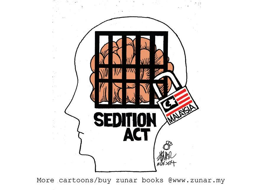Zunar Launches Legal Challenge to Malaysia's Sedition Act